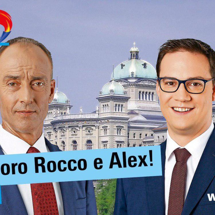 Buon lavoro Rocco e Alex